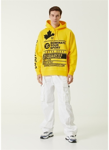 Dsquared2 Sweatshirt Sarı